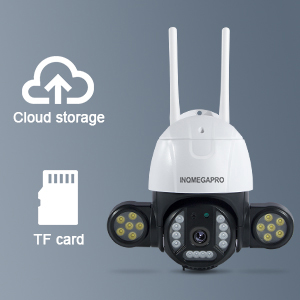 Stockage de carte SD/Cloud