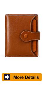 women leather wallet