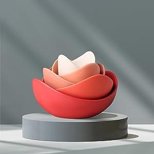 Lotus Ceramic Bowl Set