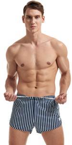 mens workout running mesh shorts 3 inch blue