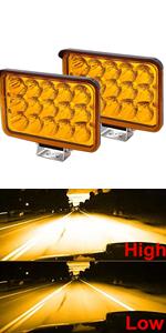 4x6 H4666 headlight