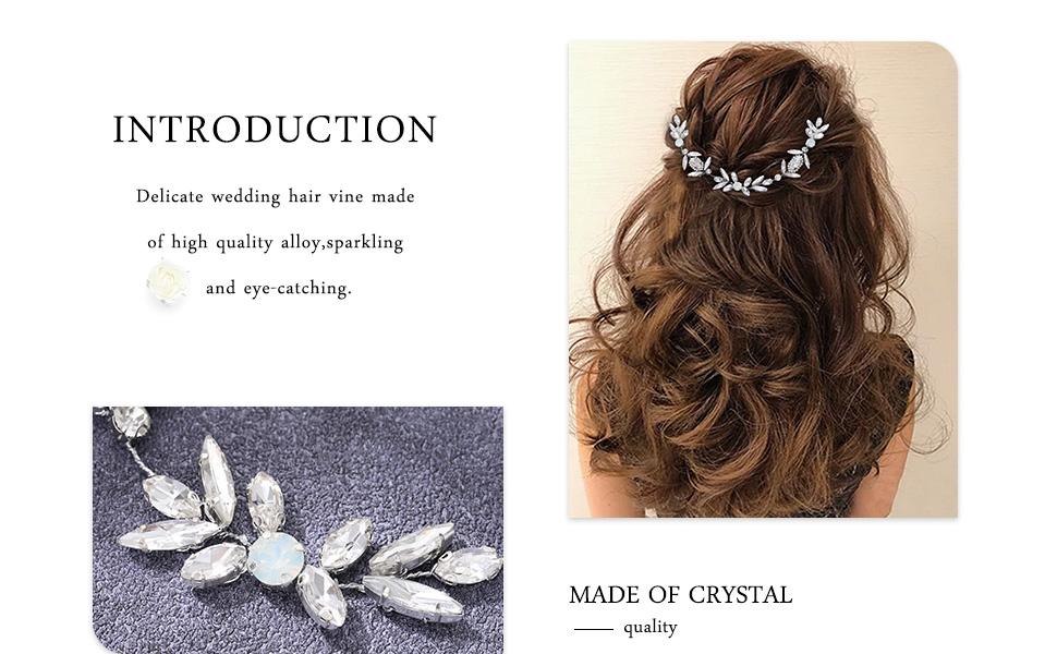 Breath hair accessories wedding hair accessories for brides hair pieces wedding headpiece for bride
