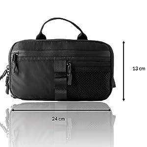 Hip bag bum bag packing cubes