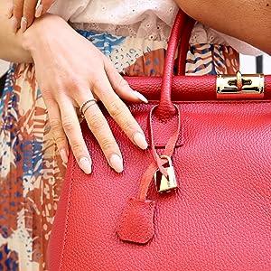 pendente borsa a spalla mano bauletto boston bag borsa bianca donna pelle pelletteria made in italy