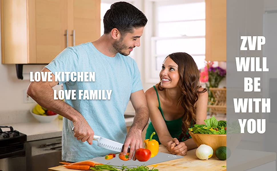 love kitchen, love family, zvp will be with you