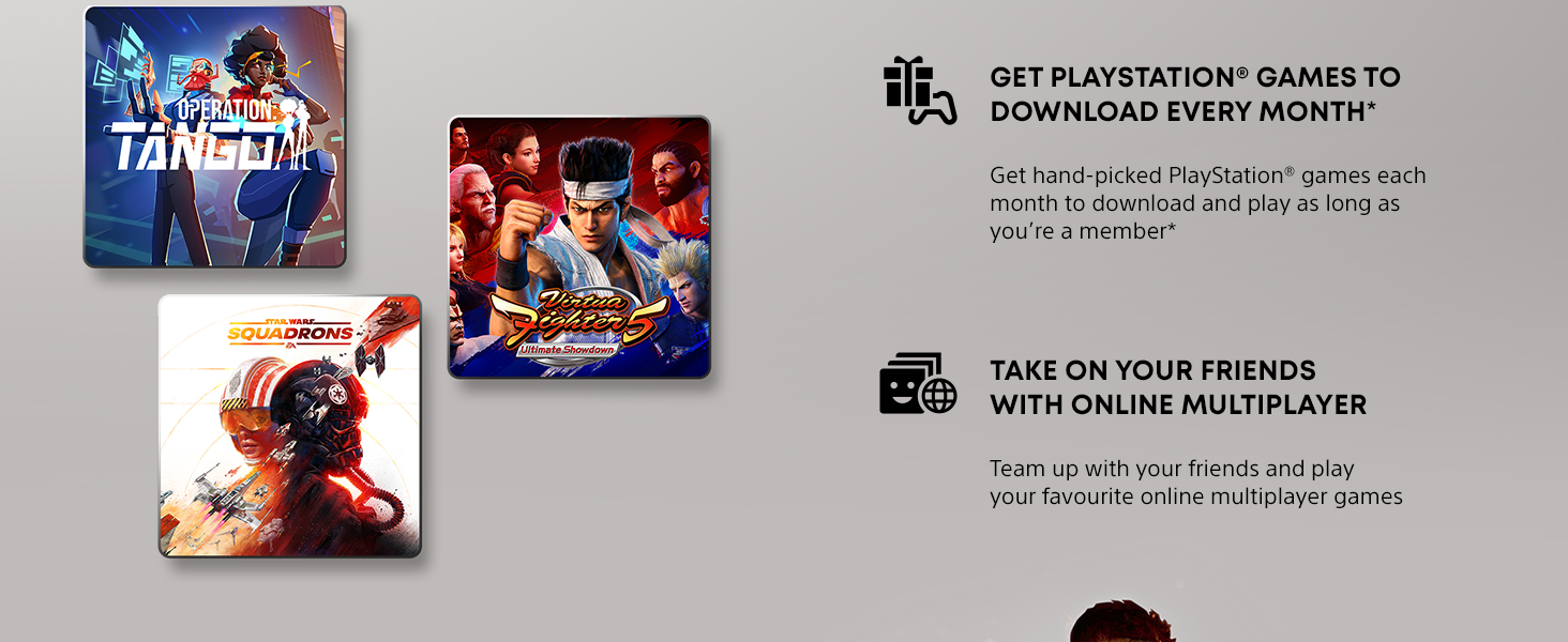 Get PlayStation games to download every month