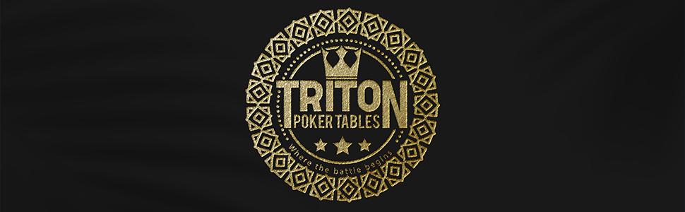 Triton Poker Tables Oval Poker Table Top Mat