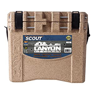 scout cooler front view