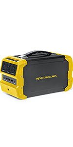 RS650, 400W, 600W, lightweight, portable, powerful, durable, reliable, power station, multi-safety