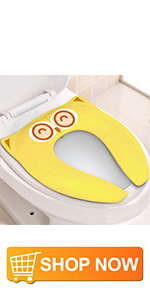 Potty training seat for toddler -Yellow