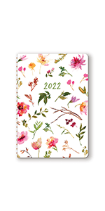 Bold Blossoms On-Time Weekly Planner 2022
