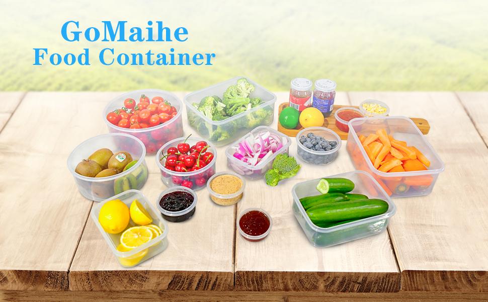 GoMaihe Boîte de Conservation Alimentaire Set de 14