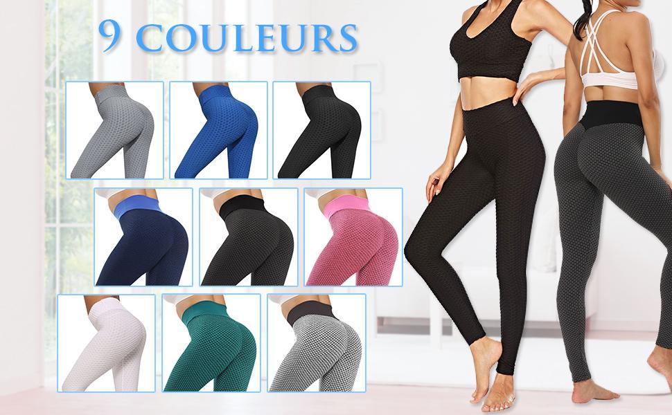 Womens Leggings-No See-Through High Waisted Tummy Control Yoga Pants Workout Legging Plus Size