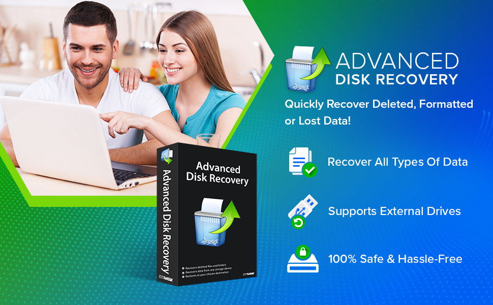 Recover all kinds of lost or deleted videos, documents, audios, and other files
