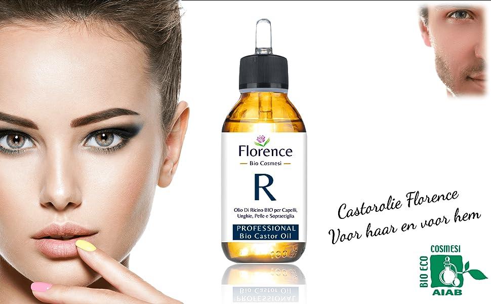 NL - Castorolie ricinusolie dutch florence organics