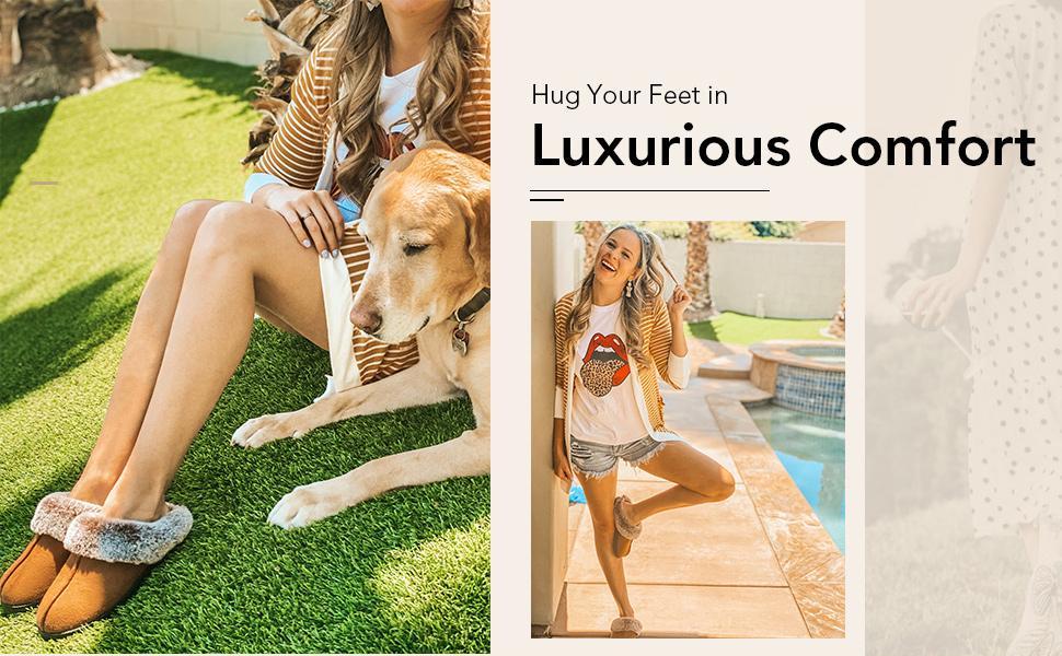 Hug your feet in luxurious comfort