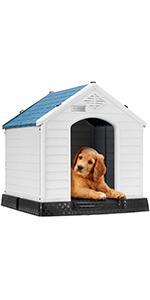 Waterproof Plastic Dog House Medium