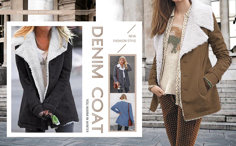 Happy Sailed Faux Suede Jacket Coats for Women Plus Size Hooded Jackets Parka Long Lapel Draped Coat