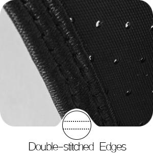 Double-stitched Edges