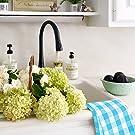 Buffalo Plaid Kitchen Towels - Beige Dish Towels - Checked Kitchen Towels