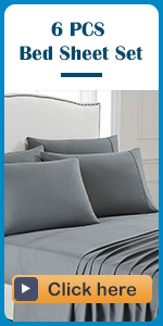 6cs bed sheet set