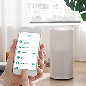 Smartmi HEPA Air Purifiers for Home Large Rooms-App Control