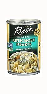 Reese Chopped Artichoke Hearts, 14 Ounces (Pack of 3)