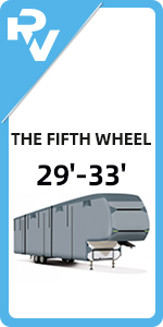 29'-33' The Fifth Wheel RV Cover