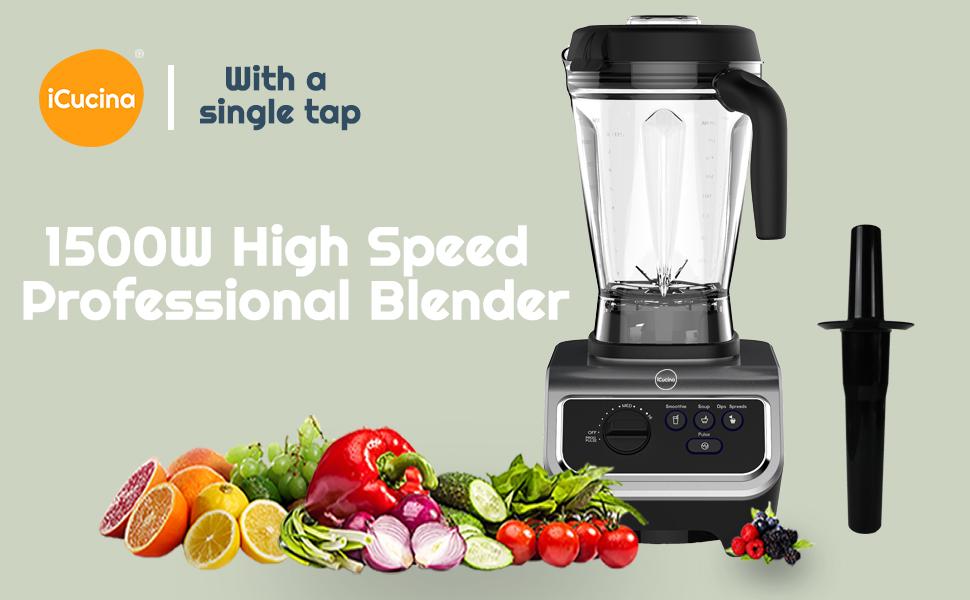1500W High Speed Professional Blender