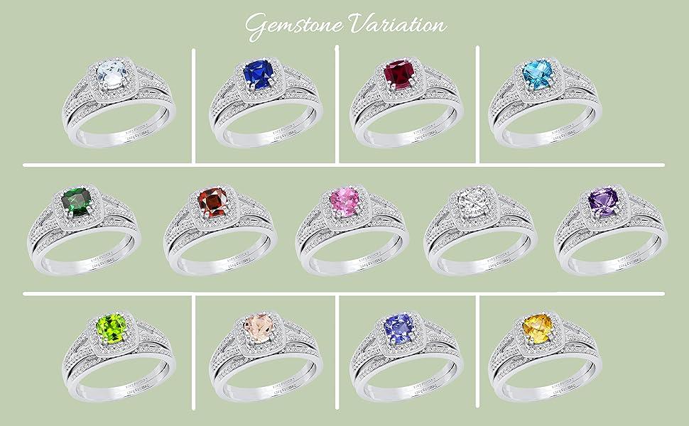 gemstone variation