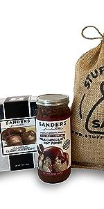 Sanders Milk Chocolate Lovers Gift Sack