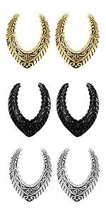 Saddle Ear Plugs Gauges