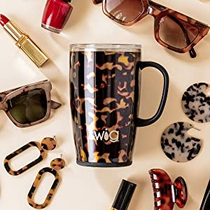 swig life bombshell travel mug coffee tumbler with handle and lid cute gift best insulated women