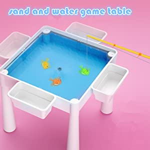 water sand game table