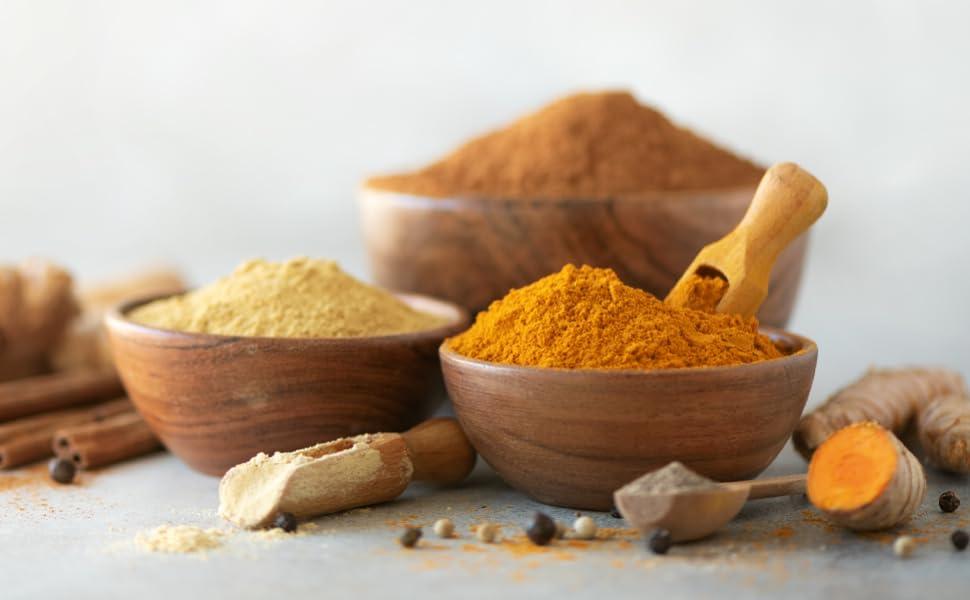 Organic Turmeric Curcumin Bioperine Black Pepper Natural Dietary Supplement