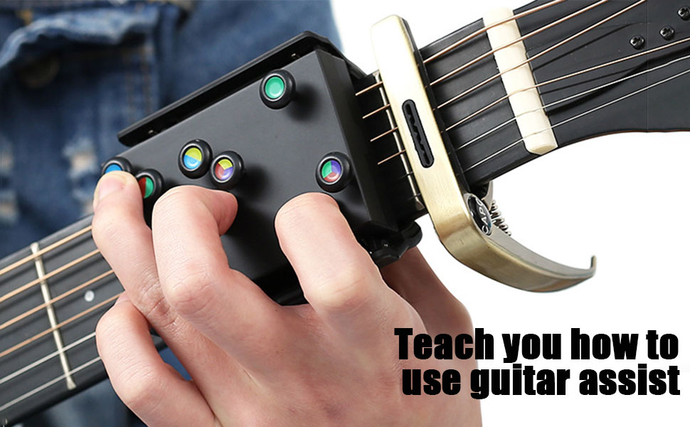 Teach you how to use guitar assist