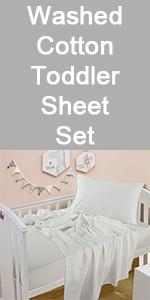 Toddler sheet set