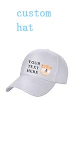 custom caps for men