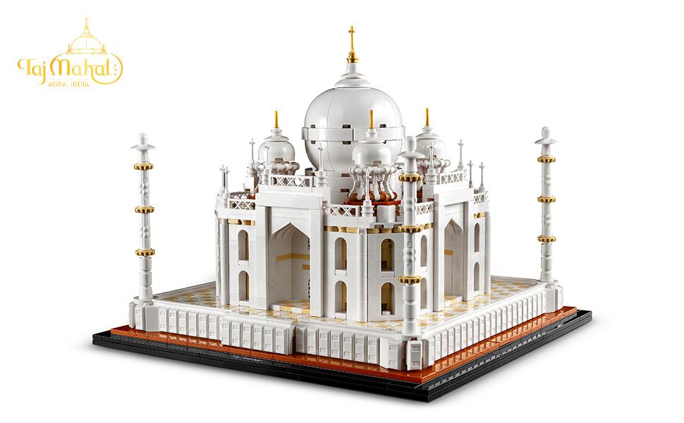 Lego Architecture Taj Mahal - Built set, Full view