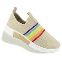 Tashm Women Beige Knitted Shoes