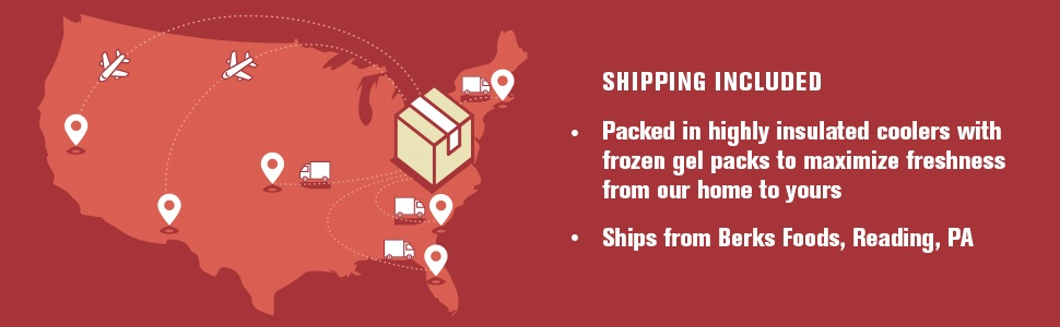 Shipping included