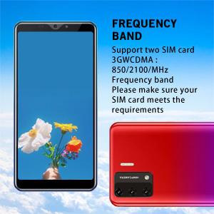 Support 3GWCDMA:850/2100MHZ SIM card