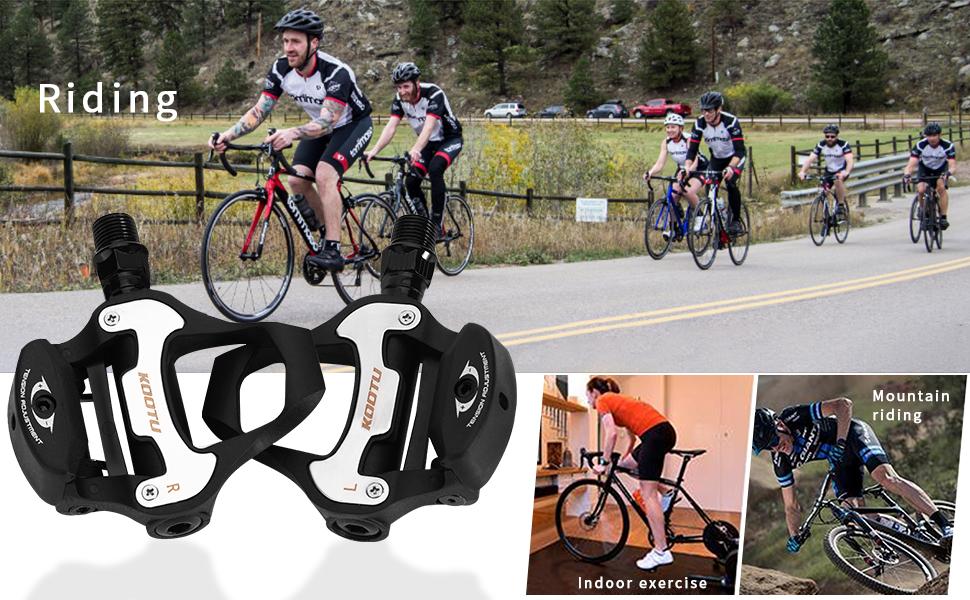 KOOTU Self-Locking Pedals for Road Bikes