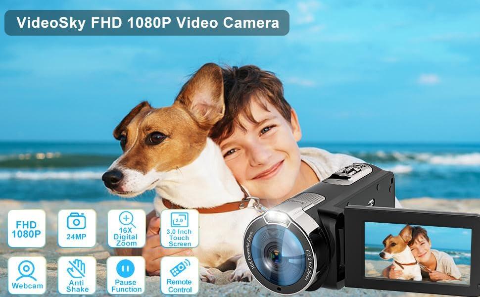 videosky FHD 1080P video camera