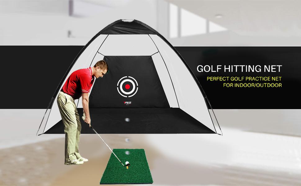 Golf net golf practice net golf hitting net indoor golf net golf nets for backyard driving golf