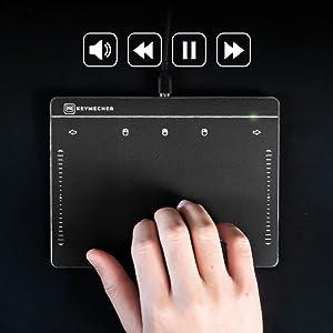 Keymecher multi touch gesture windows track pad