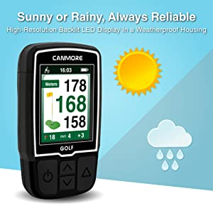 CANMORE GOlf GPS