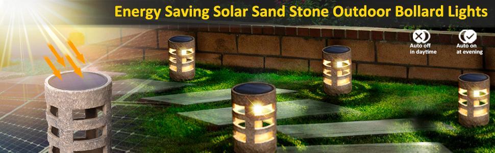 Solar Yard Lights Waterproof