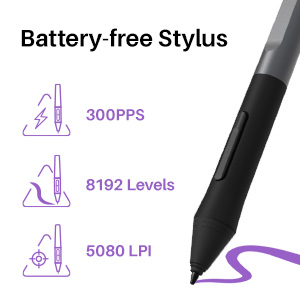 colorful writing tablet stylus pen for android tablet line friends drawing tablet