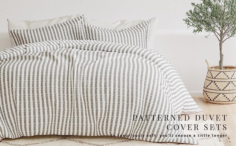 Patterned Duvet Cover Sets